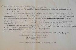 Robert Margerit loue le génie inventif de Julien Gracq.. Robert Margerit (1910-1988) Romancier et journaliste, prix Renaudot (1951) et lauréat du ...