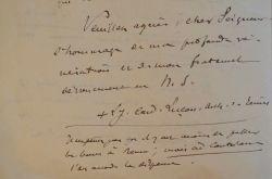Mgr Luçon se remémore son élévation à l'archevêché de Reims.. Louis Joseph Luçon (1842-1930) Evêque de Belley (1887) puis archevêque de Reims (1906), ...