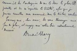 Le poète André Mary négocie avec son éditeur.. André Mary (1879-1962) Poète bourguignon, il est le fondateur dans les années 1920 de l'École gallicane ...