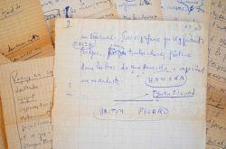Un manuscrit sur Balzac de Gaston Picard.. Gaston Picard (1892-1962) Poète, journaliste et romancier, co-fondateur du prix Renaudot.