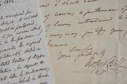 Le journaliste irlandais Robert Bell recommande un comédien.. Robert Bell (1800-1867) Journaliste et homme de lettres connu pour sa grande générosité, ...