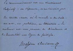 Trois maximes de Maxime Du Camp.. Maxime Du Camp (1822-1894) Ecrivain, il voyage en Orient en compagnie de Gustave Flaubert d'où il ramène de ...