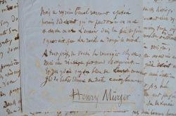 Poème inédit d'Henri Murger sur la rencontre d'une prostituée.. Henri Murger (1822-1861) Poète et écrivain, secrétaire de Tolstoï, auteur des Scènes ...