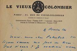 Jacques Copeau fait face à la fermeture de son théâtre.. Jacques Copeau (1879-1949) Personnage influent du milieu théâtral de la première moitié du ...