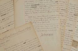 John Grand-Carteret analyse les figures de Bismarck et Crispi.. John Grand-Carteret (1850-1927) Journaliste et littérateur, historien de l'art et de ...