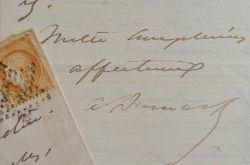 Alexandre Dumas fils demande la présence de Favre pour la création de sa pièce.. Alexandre Dumas (fils) (1824-1895) Fils naturel d'Alexandre Dumas, ...