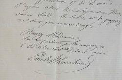 L'entomologiste Emile Blanchard en toute décontraction.. Emile Blanchard (1819-1900) Naturalisteetentomologiste français, membre du Muséum (chaire ...