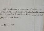 Le peintre François-Joseph Heim accepte une invitation officielle.. François-Joseph Heim (1787-1865) Peintre d'histoire, lauréat du Prix de Rome ...