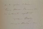 Le lithographe Louis Huvey évoque son livre sur Jean-Jacques Henner.. Louis Huvey (1868-1954) Peintre de paysage, également graveur et affichiste. Il ...