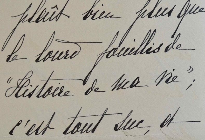 La romancière Hermine Lecomte de Nouy s'enthousiasme pour un nouveau livre.. Hermine Lecomte de Nouy (1854-1915) Femme de lettres, romancière, auteur ...