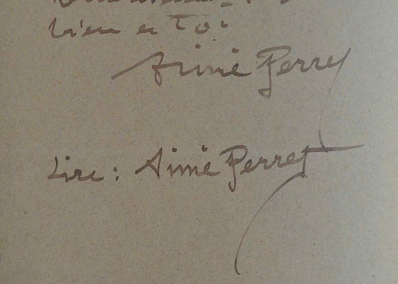 Aimé Perret expose au Salon du Champ de Mars.. Aimé Perret (1847-1927) Peintre. Elève, entre autres, de Puvis de Chavannes et d'Antoine Vollon, il ...