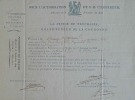 Le grand veneur Berthier accorde un droit de chasse dans l'Aveyron.. Louis-Alexandre Berthier (prince de Neuchâtel) (1753-1815) Maréchal d'Empire ...