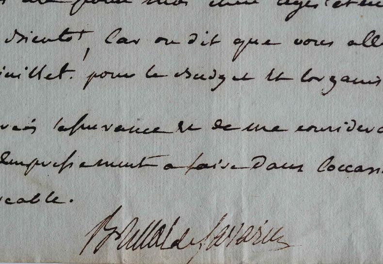 Brillat-Savarin appuie une affaire de son ami Carnot.. Jean Anthelme Brillat-Savarin (1755-1826) Gastronome, épicurien et magistrat, auteur de la ...