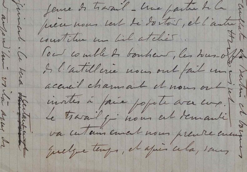 Belle lettre de guerre de François-Henri Morisset.. François Henri Morisset (1870-1956) Peintre, formé à l'Académie Julian, il est notamment membre du ...