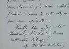 Eugène Moreau-Nélaton espère pouvoir assister à une vente d'autographes.. Eugène Moreau-Nélaton (1859-1927) Peintre et affichiste, il est surtout ...