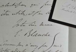 L'aliéniste Émile Blanche soutient la candidature d'Alfred de Foville.. Antoine Émile Blanche (1820-1893) Psychiatreetaliéniste français, médécin de ...