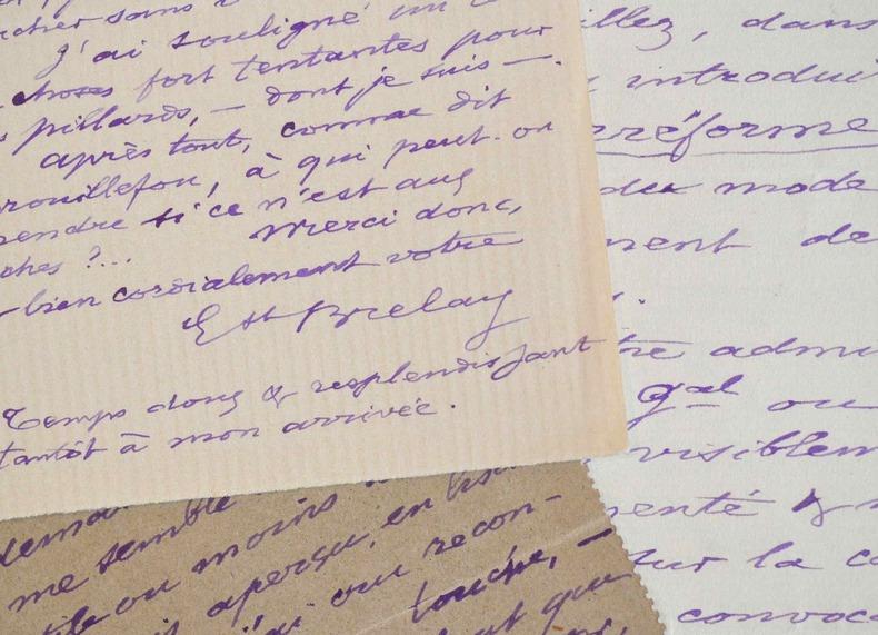 Trois lettres de l'économiste Ernest Brelay à son confrère Alfred de Foville.. Ernest Brelay (1826-1900) Économiste, il collabore à de nombreux ...