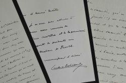 Trois lettres du sociologue Gaëtan Combes de Lestrade.. Gaëtan Combes de L'Estrade (1859-1918) Sociologue, il est l'auteur d'ouvrages consacrés à la ...