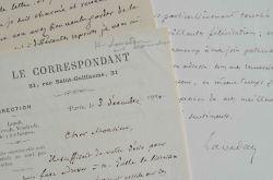 Henri Lavedan ravi d'obtenir la collaboration d'Alfred de Foville.. Henri Lavedan (1859-1940) Auteur dramatique, romancier et journaliste, il ...