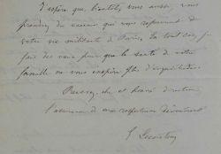 L'agronome Édouard Lecouteux tente de sauver une récolte.. Édouard Lecouteux (1819-1894) Agronome, il est l'auteur de nombreux ouvrages scientifiques, ...