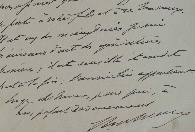 Roger Marx prédit un grand avenir à Jean de Foville.. Roger Marx (1859-1913) Inspecteur des Beaux-Arts, il est surtout connu pour ses travaux de ...