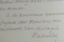 L'anthropologue Du Pouget de Nadaillac donne son sentiment sur l'Ethiopie et Ménélik.. Jean-François-Albert Du Pouget de Nadaillac (1818-1904) ...