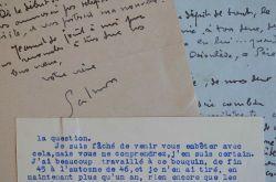 André Salmon travaille à la diffusion de son oeuvre.. André Salmon (1881-1969) Écrivain, poète et critique d'art, ami de Picasso et Modigliani, il fut ...