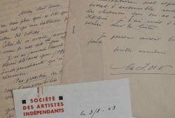 La Société des Aristes Indépendants défend sa position durant l'Occupation.. Charles-André Igounet de Villers (1881-1944) Peintre, il fait du paysage ...