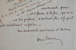 Le physiologiste Henri Laugier amateur de peinture.. Henri Laugier (1888-1973) Physiologiste reconnu, il est le fondateur du Palais de la Découverte. ...