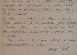 L'écrivain libertaire Georges Navel promet un article.. Georges Navel (1904-1993) Romancier et journaliste libertaire, il évolue dans les milieux ...