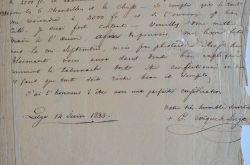 L'évêque de Liège commande un tabernacle au fondeur Ravrio.. Corneille Richard Antoine Van Bommel (1790-1852) Évêque de Liège (1829-1858), il oeuvre à ...