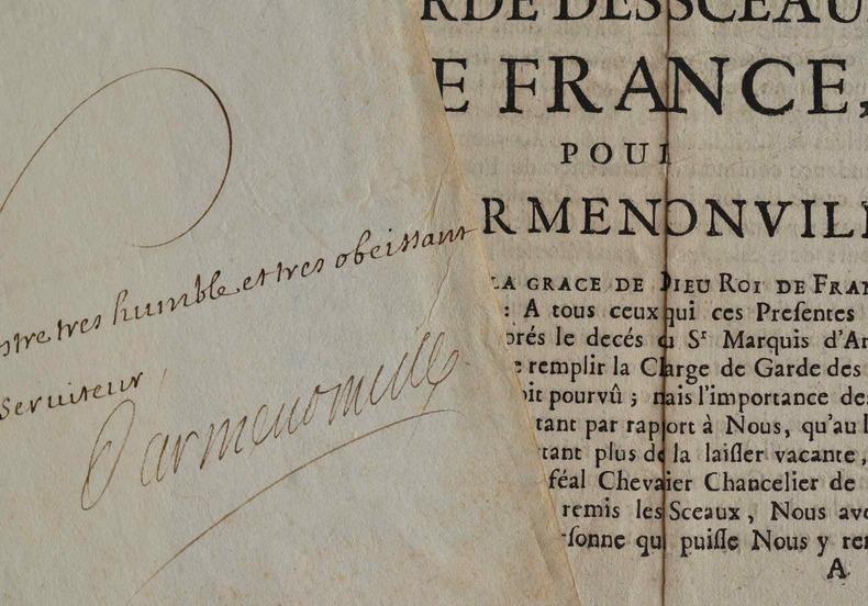 Joseph Fleuriau d'Armenonville achète deux moulins en pays Basque.. Joseph Jean Baptiste Armenonville (Fleuriau d') (1661-1728) Membre du Conseil des ...