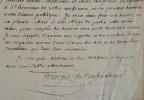 François de Neufchâteau ne pourra présider la séance de l'Athénée des Arts.. Nicolas Louis François de Neufchâteau (1750-1828) Député, ministre, ...