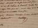 Au moment de la chute de Napoléon, Duchâtel craint son avenir.. Charles Jacques Nicolas Duchatel (1751-1844) Député sous la Révolution et la ...