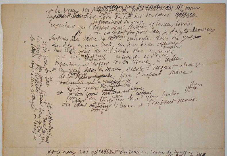 Esquisses poétiques d'Albert Samain.. Albert Samain (1858-1900) Poète symboliste.