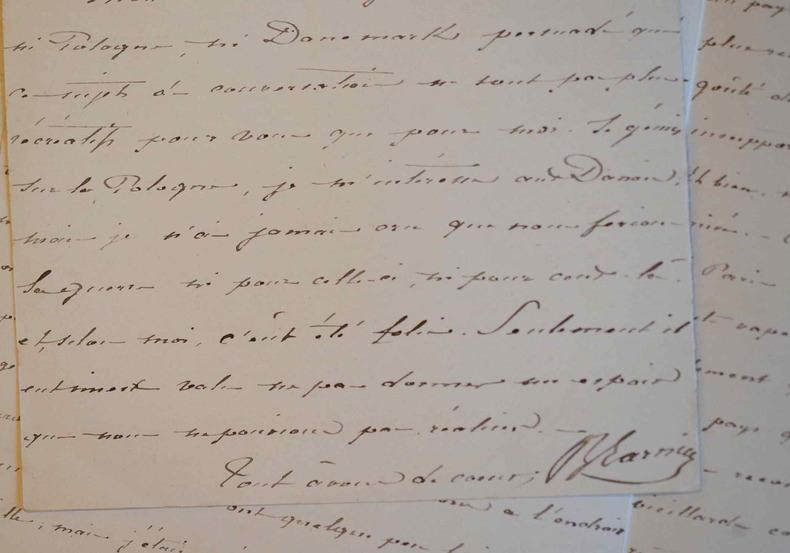 Longue relation d'une mission au Soudan sur la traite des Noirs et la chasse.. Benoit Garnier (1822-1883) Explorateur et diplomate, premier drogman à ...