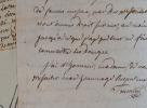 Lettre de l'écrivain rouennais Nicolas-Etienne Framery.. Nicolas-Etienne Framery (1745-1810) Écrivain, poète, dramaturge et compositeur, il est ...