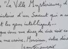 Jean Françaix fait exécuter son poème symphonique La Ville Mystérieuse.. Jean Françaix (1912-1997) Compositeur, membre de l'Académie des Beaux-arts.
