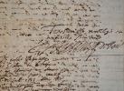 Rare lettre du protecteur de Corneille, François de Harlay, adressée à Richelieu.. François II Harlay (de) (1585-1653) Archevêque de Rouen de 1614 à ...