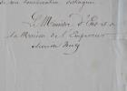 Des mesures pour réduire et réaménager la bibliothèque de l'Elysée.. Achille Fould (1800-1867) Homme politique et économiste, ministre des Finances ...