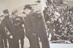 Deux photos de Blériot après sa traversée de la Manche.. Louis Blériot (1872-1936) Aviateur français. Il fut le premier àtraverser la Manche, en ...