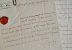Deux lettres de Dupleix de Bacquencourt.. Guillaume-Joseph Dupleix de Bacquencourt (1727-1794) Intendant en Picardie, puis en Bretagne, conseiller du ...