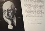 Pierre Jean Jouve recommande la lecture de son premier roman, Paulina 1880.. Pierre Jean Jouve (1887-1976) Ecrivain, poète, romancier et critique.