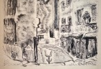 Joli dessin de Montmartre de Jean Aimé Roger Durand.. Jean Aimé Roger Durand (1914-2001) Peintre figuratif puis abstrait, il a passé de longues années ...