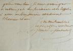 Grouber de Groubentall s'inquiète pour son ami le graveur Vincenzio Vangelisti.. Marc-Ferdinand Grouber de Groubentall de Linière (1739-1815) Avocat ...