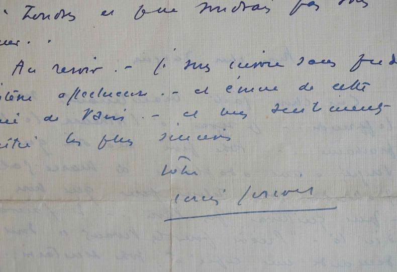Louis Jouvet entre à l'Athénée.. Louis Jouvet (1887-1951) Acteur de théâtre et de cinéma.