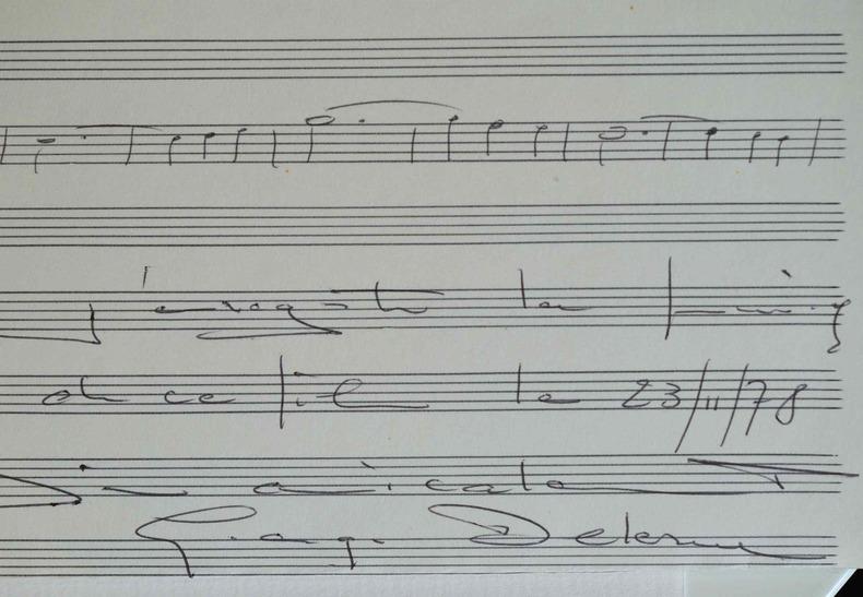 Georges Delerue compose la musique du nouveau film de François Truffaut.. Georges Delerue (1925-1992) Compositeur de musiques de films, lauréat de 3 ...