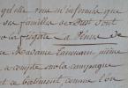 La Vénus et la Résolution portés disparus dans l'Océan Indien en 1788..