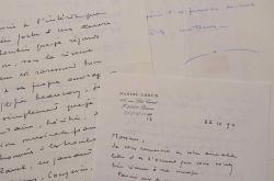 Belle correspondance musicale de Daniel-Lesur.. Daniel-Jean-Yves Lesur (dit) Daniel-Lesur (1908-2002) Compositeur et organiste, membre de l'Académie ...
