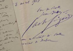 Procès-verbal du duel Roll-Dubuc par le peintre Jean Béraud.. Jean Béraud (1849-1936) Peintre de la vie parisienne et de la Belle Epoque, l'un des ...